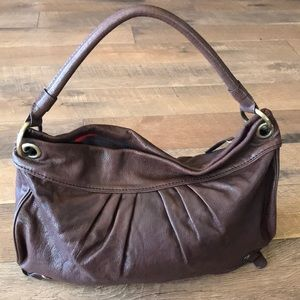 Gianni bini leather bag 15x11x3.5 inch